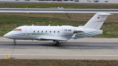 TS-INV - Bombardier CL-600-2B16 Challenger 604 - Private
