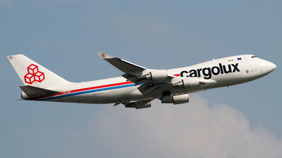 LX-ICV - Boeing 747-428F(SCD) - Cargolux Airlines International