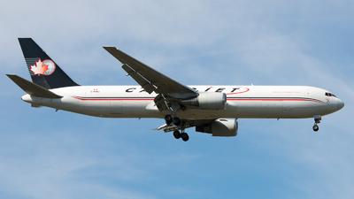 A picture of CFDIJ - Boeing 76739H(ER)(BDSF) - Cargojet Airways - © David W. Wilson