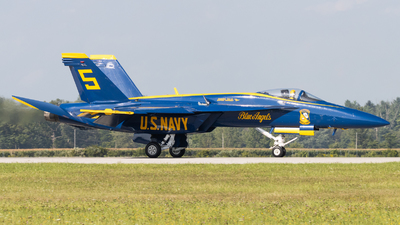 165536 - Boeing F/A-18E Super Hornet - United States - US Navy (USN)