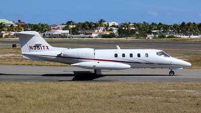 N351TX - Bombardier Learjet 35A - Private