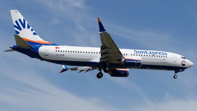 TC-SOK - Boeing 737-8 MAX - SunExpress