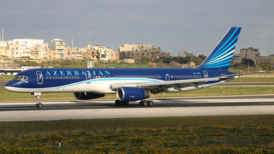 A picture of 4KAZ12 - Boeing 75722L - Azerbaijan Airlines - © Maria CP