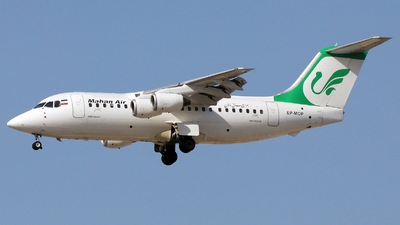 EP-MOP - British Aerospace Avro RJ85 - Mahan Air