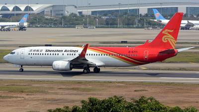 B-5771 - Boeing 737-87L - Shenzhen Airlines