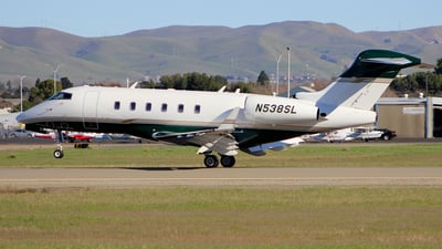 N538SL - Bombardier BD-100-1A10 Challenger 300 - Private