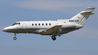 N987CE - Raytheon Hawker 800XP - Private