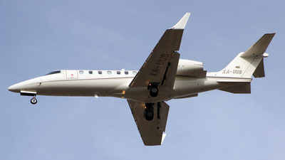 XA-UUB - Bombardier Learjet 45 - Private