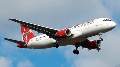 N836VA - Airbus A320-214 - Virgin America