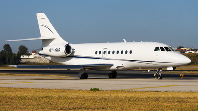 OY-SIR - Dassault Falcon 2000 - Private