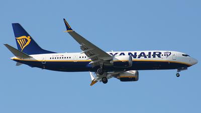 EI-HGT - Boeing 737-8-200 MAX - Ryanair
