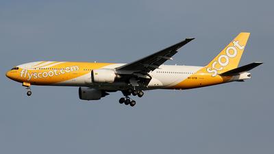 9V-OTB - Boeing 777-212(ER) - Scoot
