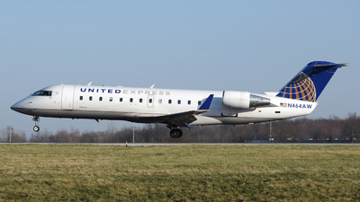 A picture of N464AW - Mitsubishi CRJ200LR - United Airlines - © DJ Reed - OPShots Photo Team