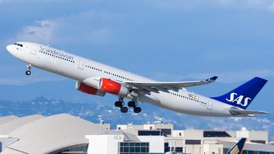 LN-RKU - Airbus A330-343 - Scandinavian Airlines (SAS)
