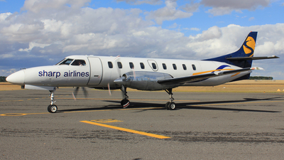 VH-UUN - Fairchild SA227-AC Metro III - Sharp Airlines