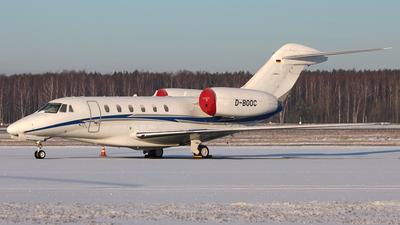 D-BOOC - Cessna 750 Citation X - Air X Charter