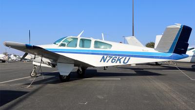 N76KU - Beechcraft S35 Bonanza - Private