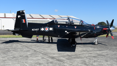 NZ1407 - Raytheon T-6C Texan II - New Zealand - Royal New Zealand Air Force (RNZAF)
