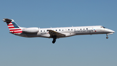 A picture of N607AE - Embraer ERJ145LR - American Airlines - © PAUL LINK