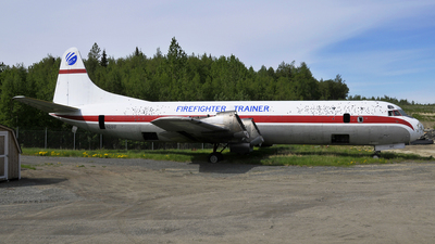 N281F - Lockheed L-188A(F) Electra - Zantop International Airlines
