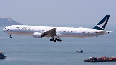 B-HNP - Boeing 777-367 - Cathay Pacific Airways