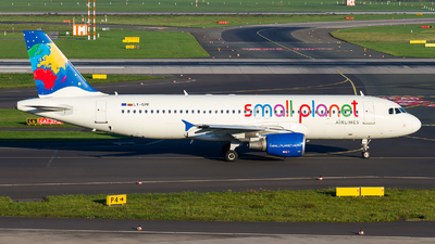 LY-SPF - Airbus A320-214 - Small Planet Airlines