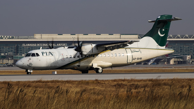 A picture of APBHM - ATR 42500 - Pakistan International Airlines - © Shajie Hussain