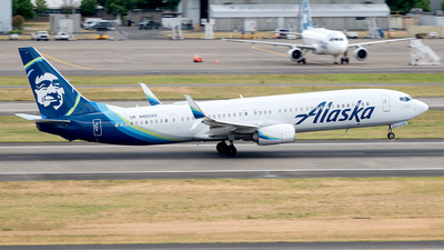 A picture of N403AS - Boeing 737990(ER) - Alaska Airlines - © Yan777
