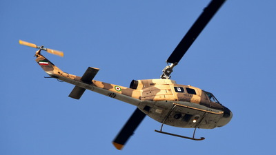 6-4808 - Bell 214A Isfahan  - Iran - Army