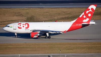 VT-AIN - Airbus A310-324(F) - Deccan 360
