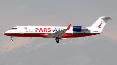 EP-PAB - Bombardier CRJ-200LR - Pars Air