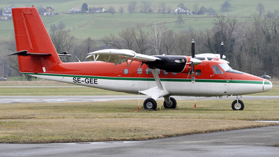 A picture of SEGEE - De Havilland Canada DHC6300 Twin Otter - [364] - © Volker Hilpert