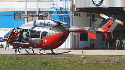 PR-EKN - Eurocopter BK117 - Brazil - Military Police