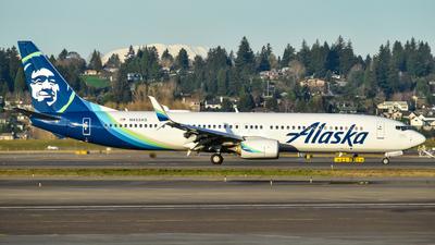 A picture of N453AS - Boeing 737990(ER) - Alaska Airlines - © Jasper Kringen