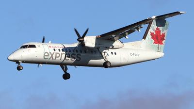 A picture of CFJVV - De Havilland Canada Dash 8300 - Air Canada - © Guy Langlois