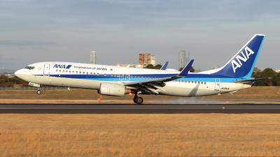 A picture of JA61AN - Boeing 737881 - All Nippon Airways - © Gripen-YN