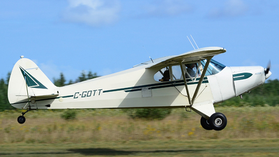 C-GOTT - Piper PA-12 Super Cruiser - Private