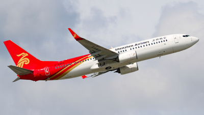 A picture of B5859 - Boeing 73787L - Shenzhen Airlines - © libohang