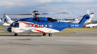 A picture of LNONO - Sikorsky S92A - Bristow Helicopters - © R.Rimestad