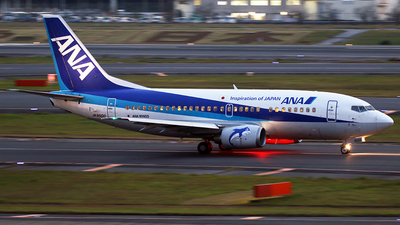JA8500 - Boeing 737-54K - ANA Wings