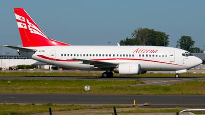 4L-TGI - Boeing 737-505 - Georgian Airways (AirZena)