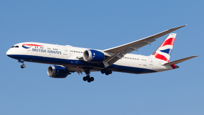 G-ZBKD - Boeing 787-9 Dreamliner - British Airways