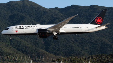 A picture of CFVND - Boeing 7879 Dreamliner - Air Canada - © Thomas Shum - Skies of Pearl