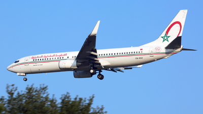 A picture of CNROZ - Boeing 7378B6 - Royal Air Maroc - © Muccapazza75 - Leone Roberto