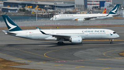 A picture of BLRT - Airbus A350941 - Cathay Pacific - © Kai Marcel Scholz/HKG Spotters Squad
