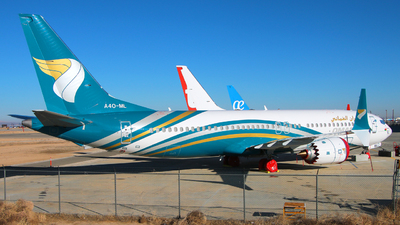A picture of A4OML - Boeing 737 MAX 8 - Oman Air - © Racso_Smet