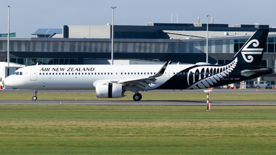 ZK-NNF - Airbus A321-271N - Air New Zealand
