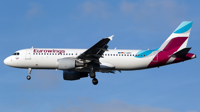 A picture of DABNT - Airbus A320214 - Eurowings - © Chris Pitchacaren