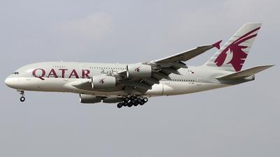 A7-APG - Airbus A380-861 - Qatar Airways