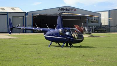 G-OAUD - Robinson R44 Raven - Private